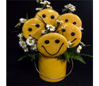Smiley Face Cookie Bouquet in Portland OR, Portland Florist Shop