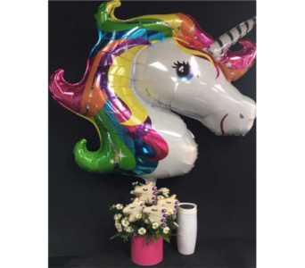 Unicorn Bouquet and Coffee in Portland OR, Portland Bakery Delivery