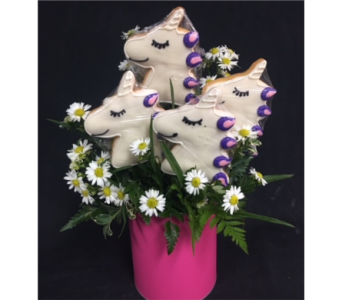 4 Unicorn Cookies in Portland OR, Portland Bakery Delivery
