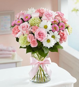 Sweet Baby Girl by 1800flowers in Las Vegas NV, A French Bouquet
