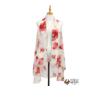 Pink Poppy Vest in Pendleton IN, The Flower Cart