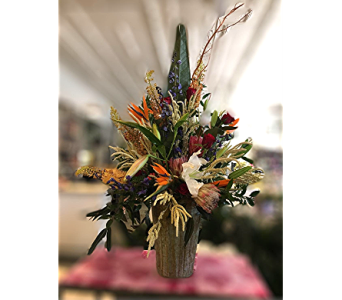 Tropical Tribute in Macon GA, Lawrence Mayer Florist