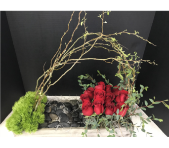Rose planter in Moon Township PA, Chris Puhlman Flowers & Gifts Inc.