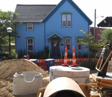Construction Updates in Ann Arbor MI, Lily's Garden
