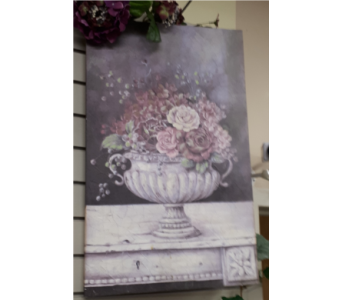 Urn Print in North Bay ON, The Flower Garden