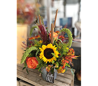 Hello Fall in Macon GA, Lawrence Mayer Florist