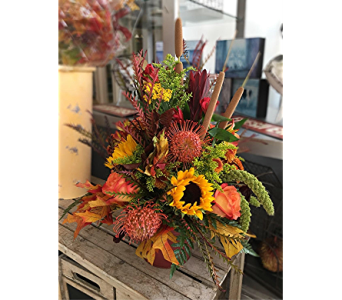 Country Autumn in Macon GA, Lawrence Mayer Florist