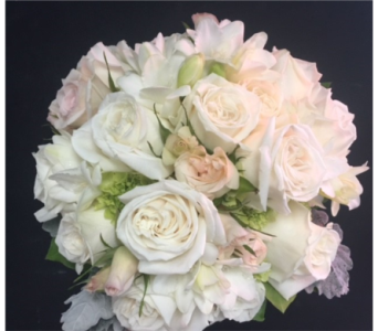 White Rose Bouquet in Portland OR, Portland Florist Shop