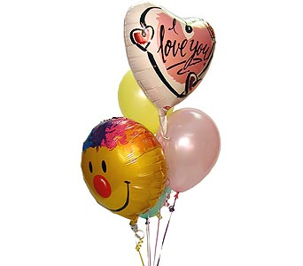 I Love You Balloon Bouquet, flowershopping.com