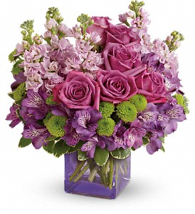 Teleflora's Sweet Sachet Bouquet in Ellicott City MD, The Flower Basket, Ltd