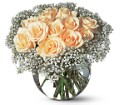 A Dozen White Roses in Dallas TX Petals & Stems Florist