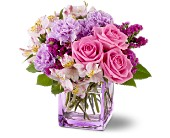 Teleflora's Beautiful Day By Petals & Stems in Dallas TX, Petals & Stems Florist