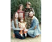 Denton Family late 70's in Wichita KS, Tillie's Flower Shop