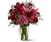Burgundy Blush in Methuen MA, Martins Flowers & Gifts