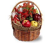 Health Nut Basket in Dallas TX, Petals & Stems Florist
