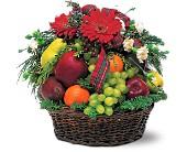Fabulous Fruit Basket in Dallas TX, Petals & Stems Florist