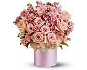 Teleflora's Pinking of You Bouquet in San Antonio TX, Dusty's & Amie's Flowers