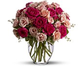 TFWEB517DX Spray Roses are Pink Deluxe