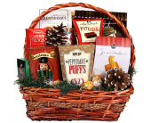Traditional Clasic Holiday Gourmet Basket in Birmingham AL, Norton's Florist