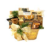Golden Holidays Gourmet Tin in Birmingham AL, Norton's Florist