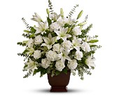 Teleflora's Sincere  Serenity by Petals & Stems in Dallas TX, Petals & Stems Florist