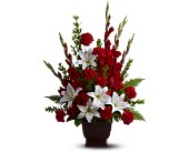 Teleflora's Tender Tribute by Petals & Stems in Dallas TX, Petals & Stems Florist