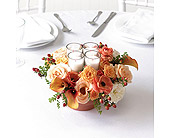 Orange Calla Centerpiece in Portland, Oregon, Portland Florist Shop