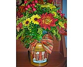 Fall Yankee candle bouquet in Johnstown PA, B & B Floral
