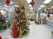 Christmas 2009 in Wichita KS, Tillie's Flower Shop
