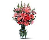Marvelous Pink by Petals & Stems in Dallas TX, Petals & Stems Florist