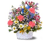 Jubilee Basket in Dallas TX, Petals & Stems Florist