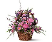 Basket of Blossoms in Milford MI, The Village Florist