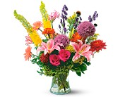 Fountain of Joy by Petals & Stems in Dallas TX, Petals & Stems Florist
