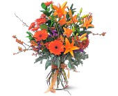 Autumn Sunshine by Petals & Stems in Dallas TX, Petals & Stems Florist