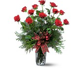 Holiday Red Roses in Butte MT, Wilhelm Flower Shoppe