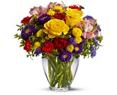 Brighten Your Day Bouquet by Petals & Stems in Dallas TX, Petals & Stems Florist