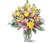 Wishing You Well, by Petals & Stems in Dallas TX, Petals & Stems Florist