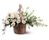Basket of Light by Petals & Stems in Dallas TX, Petals & Stems Florist