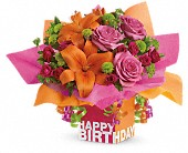Teleflora's Rosy Birthday Present in Ottawa ON, Exquisite Blooms