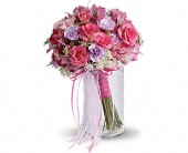 Fairy Rose Bouquet in Moon Township PA, Chris Puhlman Flowers & Gifts Inc.