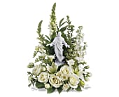 Teleflora's Garden of Serenity Bouquet in Charlotte NC, Starclaire House Of Flowers Florist