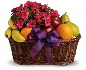 Fruits and Blooms Basket in Charlotte NC, Starclaire House Of Flowers Florist