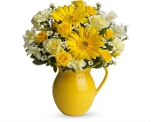 Sunny Day Pitcher of Cheer in Perrysburg & Toledo OH  OH, Ken's Flower Shops