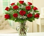 Rose Elegance - Dozen Premium Long Stem Red Roses in El Cajon, California, Conroy's Flowers