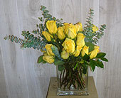 Yellow-Surprise in Dallas TX, Petals & Stems Florist