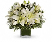 Teleflora's Diamonds & Icicles Bouquet in Danvers MA, Novello's Florist