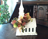 Chapel with Lights in Chattanooga, Tennessee, Chattanooga Florist 877-698-3303