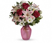 She's The One Bouquet in Dallas TX, Petals & Stems Florist
