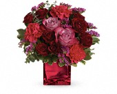 Teleflora's Ruby Rapture Bouquet in Dallas TX, Petals & Stems Florist