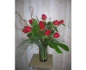 Modern Dozen in Dallas TX, Petals & Stems Florist
